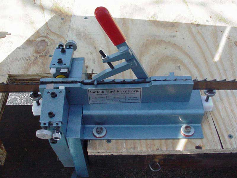 Dual Tooth Setter Suffolk Machinery Timber Wolf